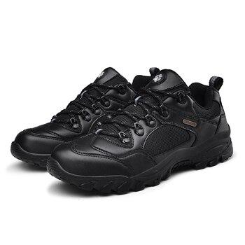Zapatos de senderismo botas de combate del Ej rcito zapatillas de Trekking antideslizantes zapatos de