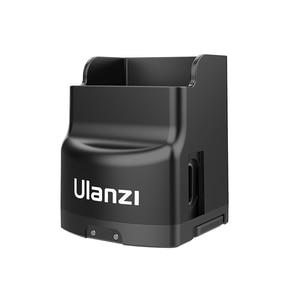 Image 3 - ULANZI OP 2 חצובה טעינת בסיס קבוע מחזיק מעמד 1/4 בורג עם USB סוג C יציאת לdji אוסמו כיס מצלמה