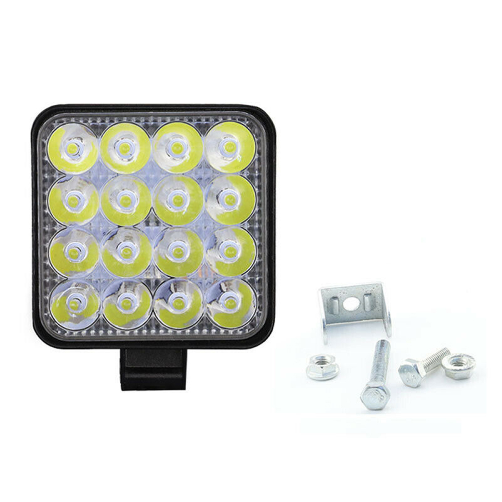48W LED Car Work Light Flood Spot Driving Lamp For Truck Trailer SUV Off Road Boat 12V 24V 4WD Car Led Driving Light Work Lamp