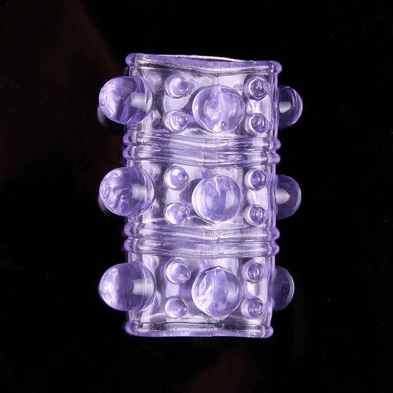 سيليكون خاتم الديك الواقي الذكري القضيب كم الترا رخيصة لعبة الجنس رئيس إلى القضيب ، منتجات الجنس قابل للتعديل كوكرينج للرجال