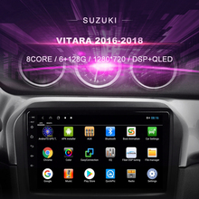 Car DVD For Suzuki Vitara (2016 2018) Car Radio Multimedia Video Player Navigation GPS Android 10.0 Double Din