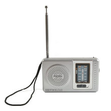 AM FM Powered Telescopic Antenna Pocket Radio Mini Portable Multi-function Built In speaker Receiver Radios Outdoor Music Player(China)
