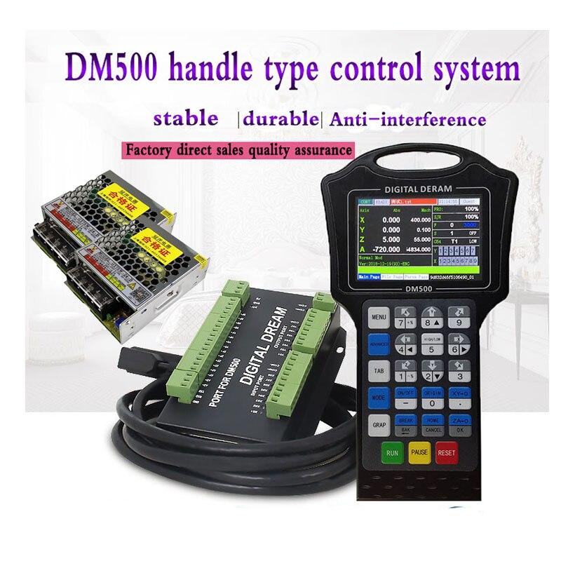 ЧПУ контроллер handwheel 500 кГц motion g code с драйвером DM500 M130 M150 3-4 axis заменяет кнопку пользователя DSP A11E