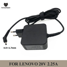20V 2.25A 45W 4.0*1.7mm Laptop Power Adapter for Lenovo charger Ideapad 100 100s yoga310 yoga510 AC Adapter Charger ADL45WCC