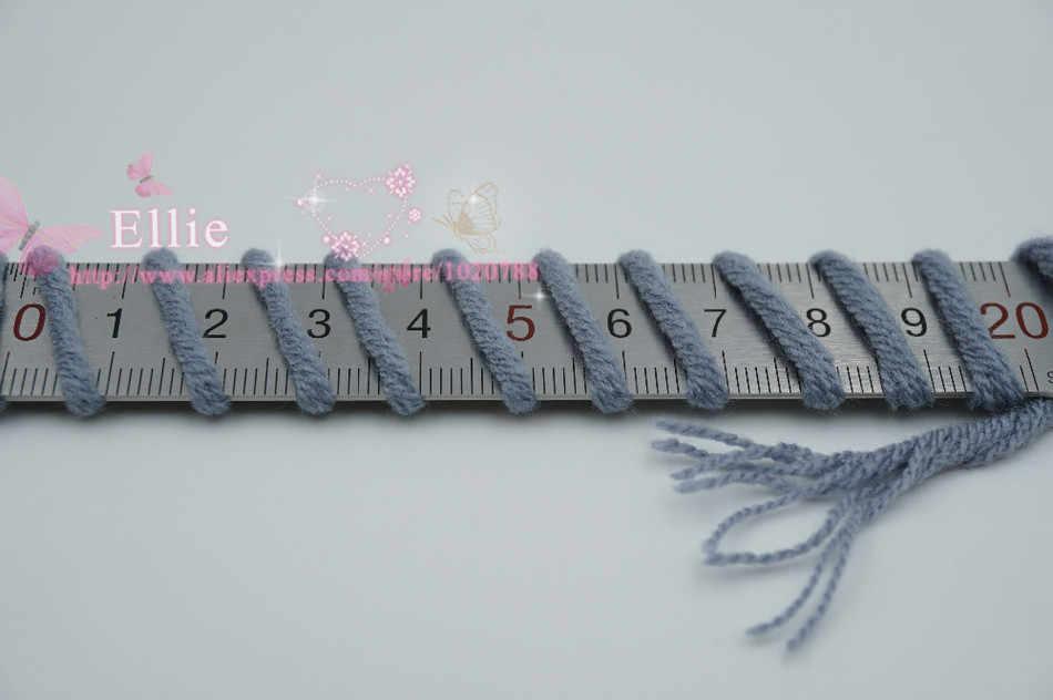 새로운 6 조각 연인 뜨개질 스레드에 대한 두꺼운 원사 핸드 니트 lanas 파라 tejer 코튼 크로 셰 뜨개질 양모 바늘 손으로 짠 t49