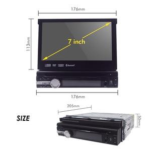 Image 3 - 유니버설 1 din 안드로이드 10 쿼드 코어 자동차 DVD 플레이어 GPS 와이파이 BT 라디오 BT 2GB RAM 32GB rom 16GB 4G SIM 네트워크 스티어링 휠 RDS