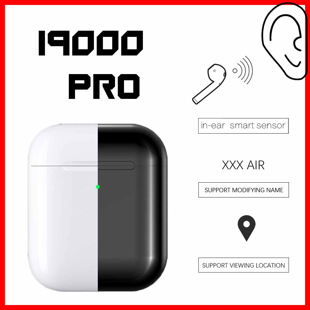 <font><b>Original</b></font> i9000 PRO <font><b>TWS</b></font> 1:1 Wireless Headphones GPS Bluetooth 5.0 Sport in ear Smart Sensor pk <font><b>i90000</b></font> pro <font><b>tws</b></font> i50000 Earbuds image