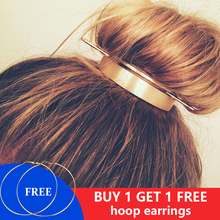 Original Design Alloy Round Top Hair pins