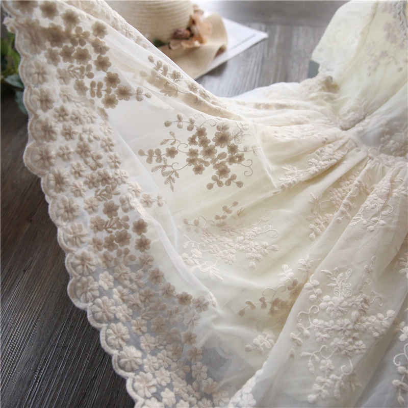 H151052d949d540588007ed23fee5cf0bp Children Girls Embroidery Clothing Wedding Evening Flower Girl Dress Princess Party Pageant Lace tulle Gown Kid Girls Clothes