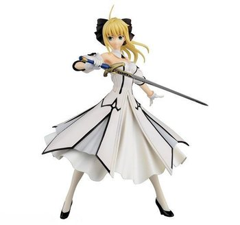 Anime Fate / Stay Night Saber Lily Girl PVC Action Figure Resin Collection Model Toy Gifts Cosplay 2
