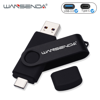 Doble Uso unidad Flash USB 2 en 1 USB3.0 y Tipo C OTG Pen Drive 32GB 64GB 128GB 256GB 512GB de alta velocidad USB, Pendrives