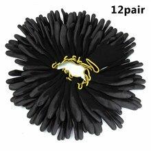 12 пар рабочие перчатки с полиуретановым покрытием черные нейлоновые вязаные манжеты гибкие противоскользящие