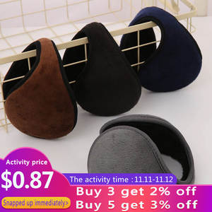 Winter Earmuffs Protector Warmer Wrap-Band Earflap Ear-Cover Plush Soft Unisex Fashion
