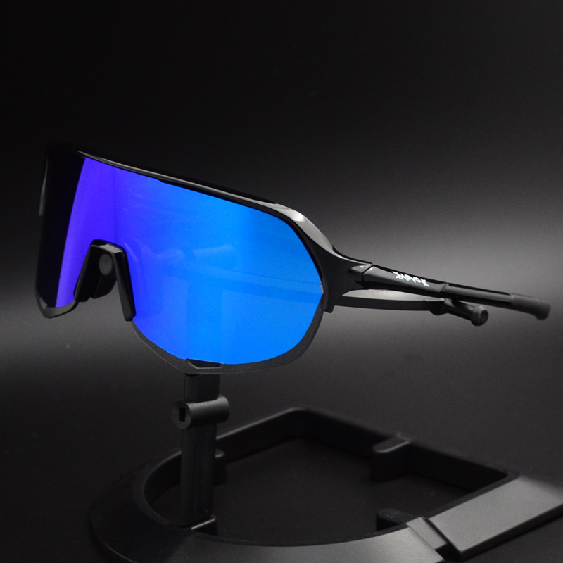 2019 NEW Cycling Glasses 5 lens Outdoor Bike Bicycle Goggles Sport Cycling Sunglasses Brand Design Cycling Eyewear Fietsbril