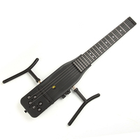 Electrical Silence Guitar 18 Frets Cool Plastic Practice 6 Strings Acoustic Guitar Trainer Tool Parts Gadget for Beginners