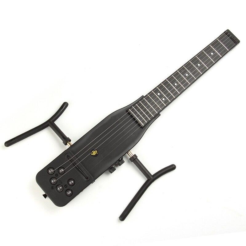 Silence électrique guitare 18 frettes Cool plastique pratique 6 cordes guitare acoustique formateur outil pièces Gadget pour débutants