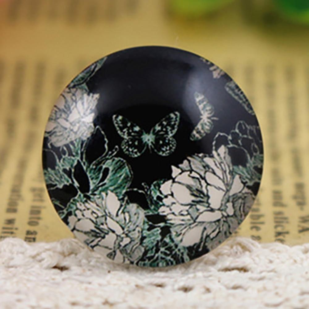 New Fashion  5pcs/Lot 25mm Handmade Photo Glass Cabochons  F2-32