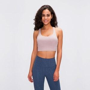 Image 4 - Raibaallu bahar/summershock geçirmez spor iç çamaşırı kadın crossover geri toplamak koşu yoga sutyen