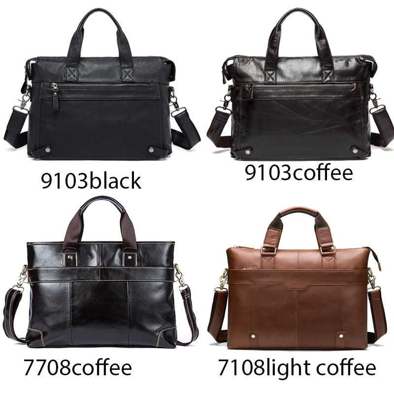 WESTAL сумка на плечо для мужчин, Сумки из натуральной кожи через плечо/сумка-мессенджер, мужские кожаные сумки для ноутбука, сумки, мужская сумка