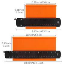 Шире контур датчик дубликатор с замком 6/10 дюймов профиль Форма копия инструмент-шаблон для изогнутых Форма s