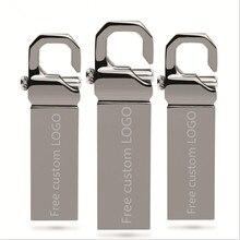 USB Flash Drive 64GB Metal Pendrive 32GB OTG Pen Drive 16GB Cle USB 2.0 Flash Memory Stick 128GB u disk Waterproof Dropship mini цена и фото