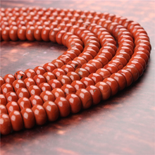 Natural Redstone Gem 5x8x4x6MM Abacus Bead Spacer Bead Wheel Bead Accessory For Jewelry Making Diy Bracelet Necklace