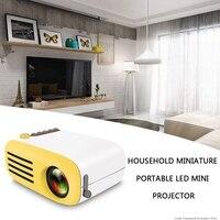 Yg200 Led Projektor 600 Lumen 3,5Mm Audio 320X240 Pixel Yg 200 Hdmi Usb Mini Projektor Home Media Player Home Theater