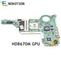 NOKOTION Laptop motherboard For HP Pavilion 14 E 15 E HD8670M GPU 713256 001 713256 501 DA0R63MB6F1 Main board full works