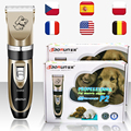 Rechargeable Pet Dog clippers Low Noise Professional Cat Animal Hair Clipper Remover Cutter Grooming Shaver Set Hair Clipper