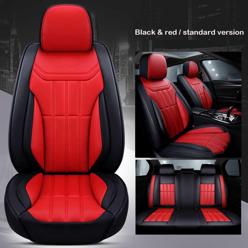 Universal Kulit Kursi Mobil Penutup untuk BMW 3 5 7 Seri GT/X/F/E10 11 15 16 20 25 30 E46 E39 E90 F10 F30 E60 E36 E87 Aksesoris