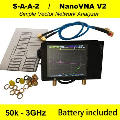 3G Vector Network Analyzer S-A-A-2 NanoVNA V2 Antenna Analyzer Shortwave HF VHF UHF