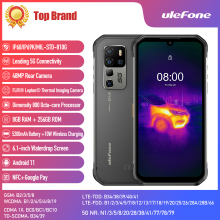 Ulefone Armor 11T 5G Rugged Smartphone FLIR� Thermal Imaging Camera 8GB 256GB 6 1   Android 11 Mobile Phone Support OTG NFC