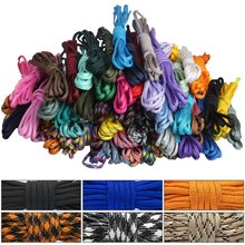 4 Size Dia.4mm 9 Stand Cores Paracord For Survival Parachute Cord Lanyard Camping Climbing Camping Rope Hiking Clothesline(China)