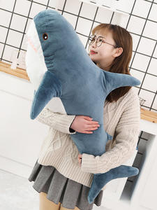 Speelgoed Pillow Cushion Plush-Toy Shark Animal-Reading Stuffed Children Birthday-Gifts