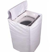 Étui de protection solaire automatique pour Machine à laver, couvercle supérieur, rouleau en Polyester et argent, anti-poussière, 2019
