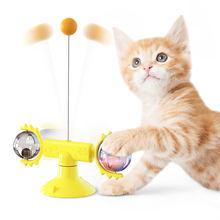 Интерактивная игрушка для кошек вихревая котов интерактивные