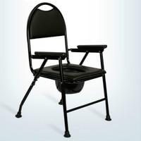 Cadeira conveniente do agregado familiar commode fortalecimento antiderrapante pessoas idosas potty cadeira com tamborete seguro da mulher grávida estável