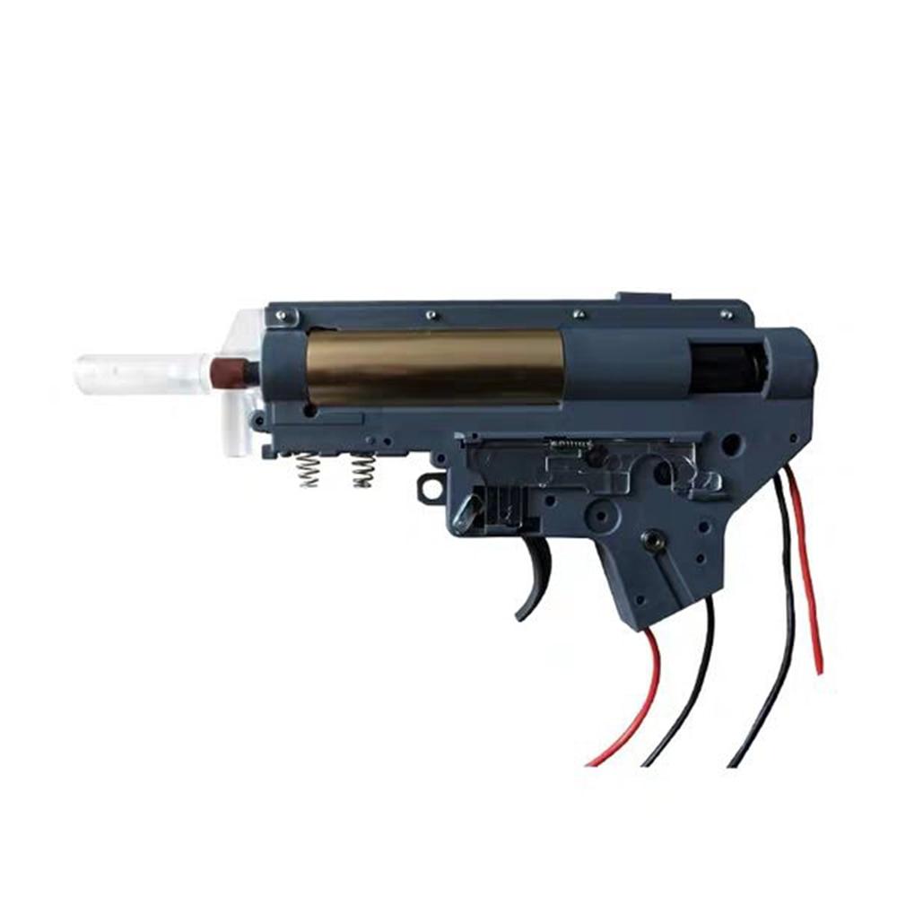 Gel Gearbox Gel Split Gearbox Nylon Receiver For Kublai For Airsoft AEG Air Guns Ver.2 Gel Blaster Paintball Accessories
