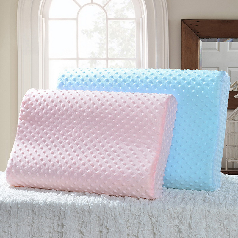50 X 30 X 9cm Soft <font><b>Pillow</b></font> <font><b>Cases</b></font> Slowly Rebound Memory Foam Space <font><b>Pillow</b></font> <font><b>Cases</b></font> Neck Cervical Healthcare Memory <font><b>Pillow</b></font> <font><b>Case</b></font> image