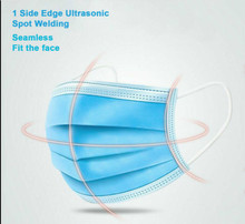 Anti Flu Disposable Mouth Cover Face Masks Surgical Salon Mask 3 Layers Unisex  Bacteria Proof  Adult  One Time Personal