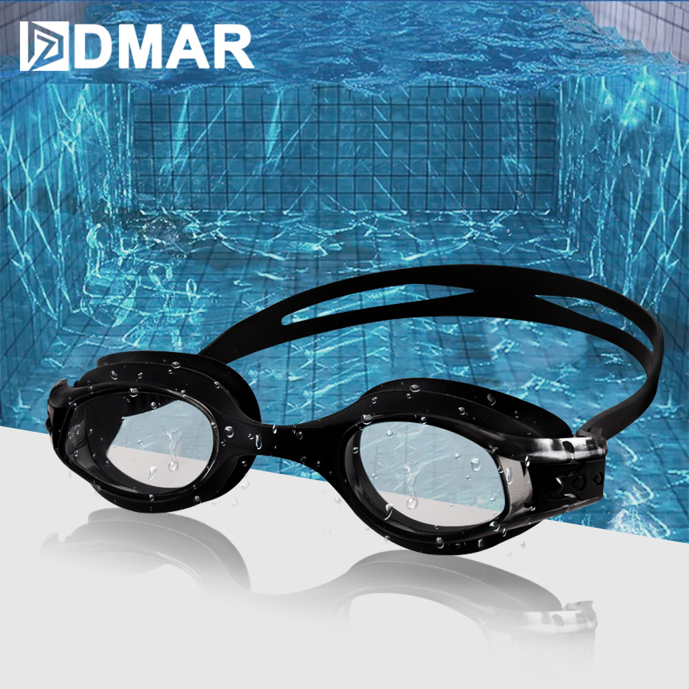 DMAR Kids Swimming Goggles Anti-Fog Diving Eyewear professional Waterproof silicone glasses