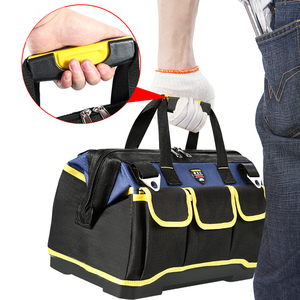 Image 3 - Multifunction Tool Bag Large Capacity Thicken Professional Repair Tools Bag 13/16/ 18/20 Toolkit Bag