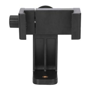 Image 3 - Tripod Mount Phone Clip Vertical Bracket 360 Degree Rotating Tripod Adapter for Iphone Samsung Xiaomi Huawei