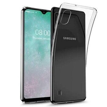 Перейти на Алиэкспресс и купить Прозрачный силиконовый чехол из ТПУ для Samsung Galaxy A10