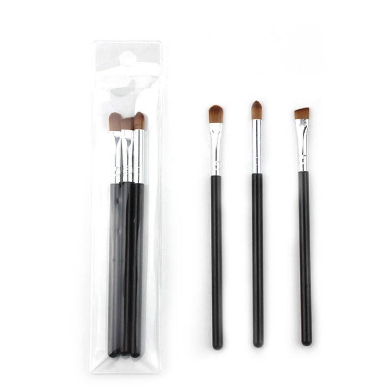 Portable Size Eyebrow Brush for Makeup Eyebrow Eyeshadow Cosmetic Makeup Brush Makeup Kit Soft Hair Plastic Handle Easy To Carry