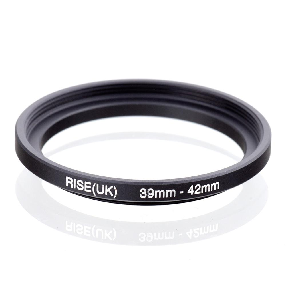 RISE(UK) 39mm-42mm 39-42 Mm 39 To 42 Step Up Filter Ring Adapter