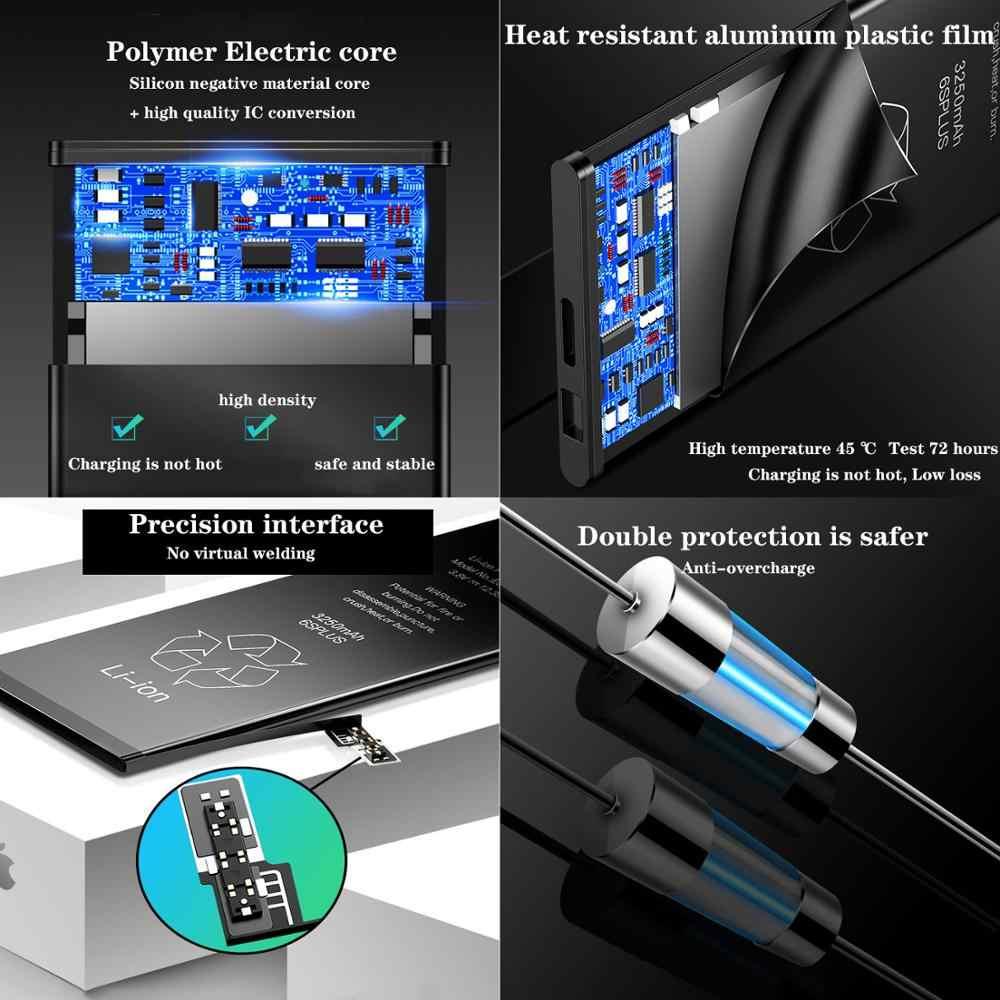 Batterie de téléphone portable pour iphone 5 iphone 6 iphone 7 batterie de remplacement Compatible 7plu 8 8plus XS XR SE batterie au Lithium