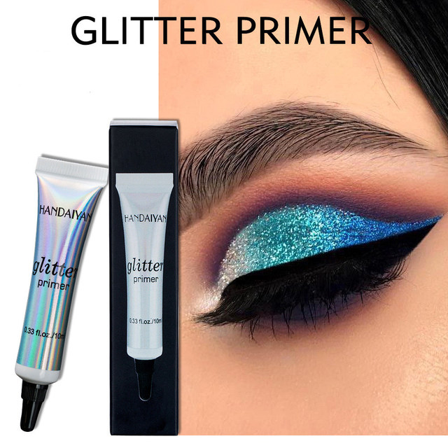 HANDAIYAN 10ml Glitter Primer Maximized Eyeshadow Color Eye Base Makeup Cream Long Lasting Milk Texture Natrual Primer Maquiagem 1