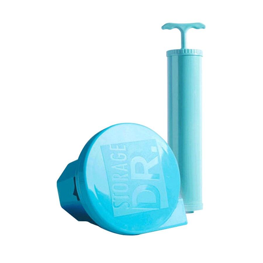 Домашний удобный вакуумный компрессионный мешок зефир и воздуходувки печать одежда уплотнение Сжатый для экономии места в путешествии сумки посылка - Цвет: Vacuum air pump