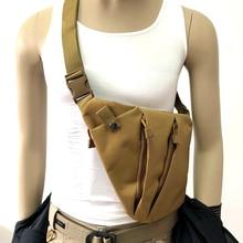 Multi-functional Shoulder Bag Men Tactical Gun Holster Concealed Anti-theft Left Right Hand Chest